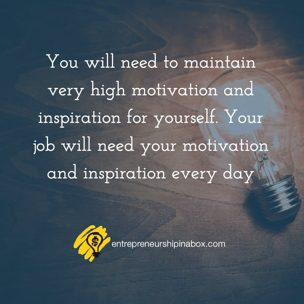 your motivation and inspiration